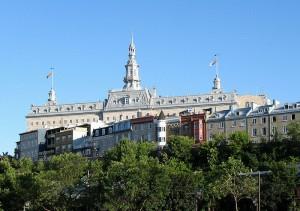 vue du Grand Séminaire de Québec depuis la basse-ville