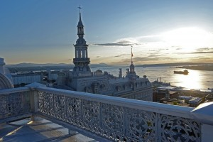 vue depuis le balcon du Grand Séminaire de Québec