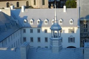 murs de la cour intérieure du Grand Séminaire de Québec