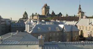 Grand Séminaire de Québec et château Frontenac