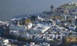 vue du ciel du Grand Séminaire de Québec
